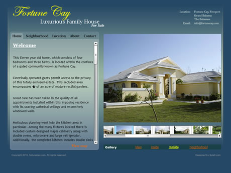FortuneCay Website